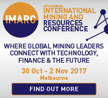International Mining and Resources Conference 30 Oct - 2nd Nov